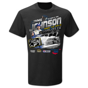 Jimmie Johnson #48 2016 CHARLOTTE Victory T-shirt