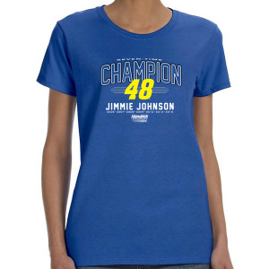 Jimmie Johnson Seven-Time Champion Ladies T-shirt