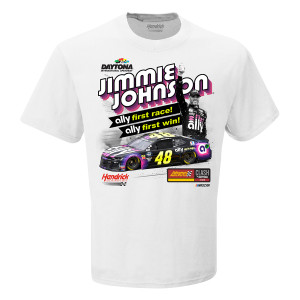 Jimmie Johnson #48 2019 Clash at Daytona Win T-shirt PRE-ORDER