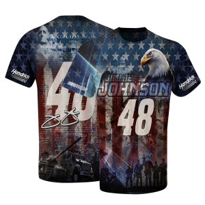 Jimmie Johnson #48 American Sublimated T-shirt