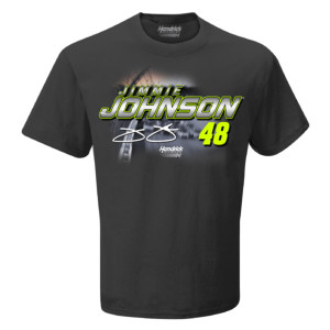 Jimmie Johnson #48 2019 NASCAR Schedule T-shirt