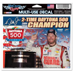 "Dale Jr. 2014 Daytona 500 4X6"" Multi Use Decal"
