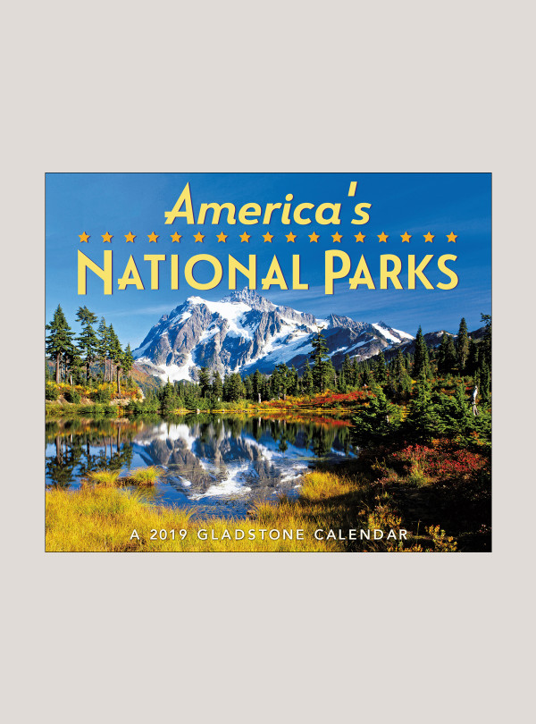 2019 America S National Parks 5 25 X 4 25 Page Per Day