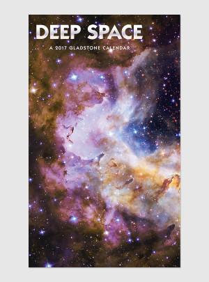 "Deep Space 2017 <br/> 12"" x 20"" Big Picture Calendar"
