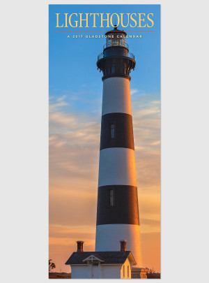 "Lighthouses 2017 <br/> 9"" x 22"" Vertical Calendar"