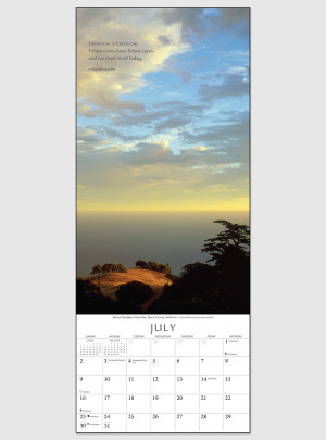 "The Present Moment 2017 <br/> 9"" x 22"" Vertical Calendar"