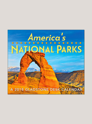 "2018 America's National Parks 5.25"" x 4.25"" Page Per Day Calendar"