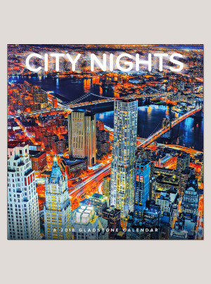"2018 City Nights 12"" x 12"" Wall Calendar"