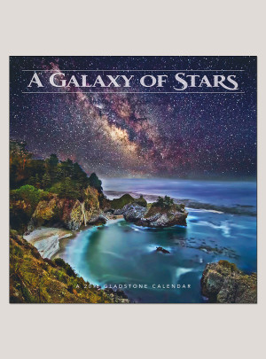 "2018 Galaxy of Stars 12"" x 12"" Wall Calendar"