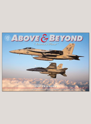 "2019 Above & Beyond 12"" x 18"" DELUXE WALL CALENDAR"