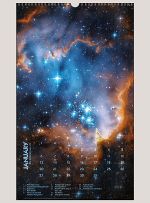 "2019 Deep Space 12"" x 20"" BIG PICTURE™ CALENDAR"