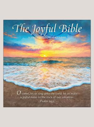 "2019 The Joyful Bible 12"" x 12"" WALL CALENDAR"