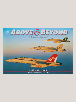 "2020 Above & Beyond 18"" x 12"" DELUXE WALL CALENDAR"