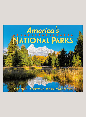 "2020 America's National Parks 5.25"" x 4.25"" PAGE PER DAY CALENDAR"