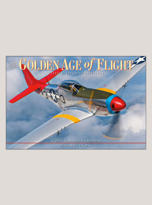 "2020 Golden Age of Flight 18"" x 12"" DELUXE WALL CALENDAR"