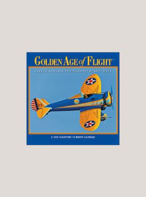 "2020 Golden Age of Flight 7"" x 7"" MINI WALL CALENDAR"