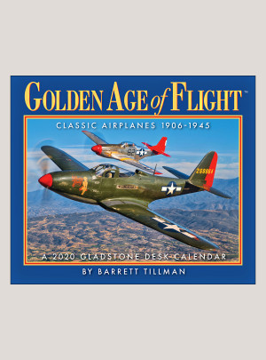 "2020 Golden Age of Flight 5.25"" x 4.25"" PAGE PER DAY CALENDAR"