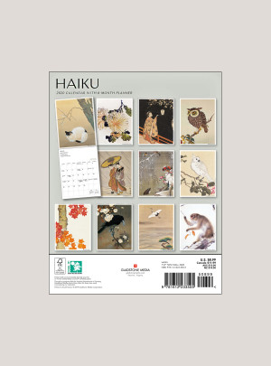 "2020 Haiku 7"" x 9"" BIG MINI™ WALL CALENDAR"
