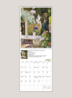 "2020 Impressionism in the Garden 7"" x 9"" BIG MINI™ WALL CALENDAR"