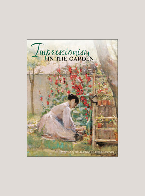 "2020 Impressionism in the Garden 7"" x 9"" BIG MINI™ WALL CALENDAR"