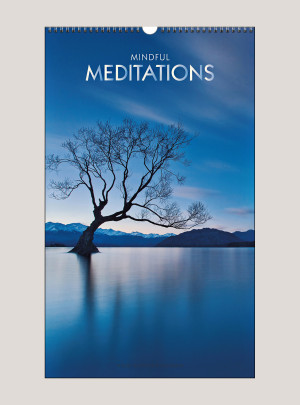 "2020 Mindful Meditations 12"" x 20"" BIG PICTURE™ CALENDAR"