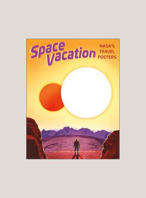 "2020 Space Vacation 7"" x 9"" BIG MINI™ WALL CALENDAR"