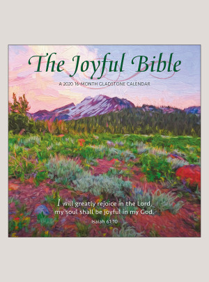 "2020 The Joyful Bible 12"" x 12"" WALL CALENDAR"