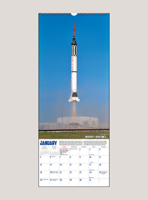 "2020 To the Moon 9"" x 22"" VERTICAL WALL CALENDAR"