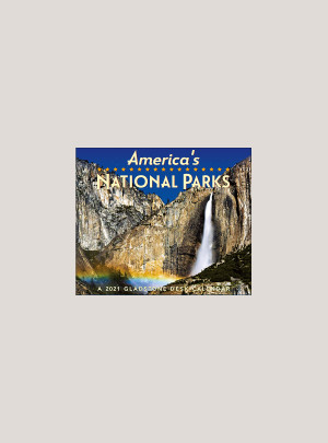 """2021 America's National Parks 5.25"""" x 4.25"""" PAGE PER DAY CALENDAR"""