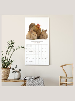 "2021 Bunnies & Friends 12"" x 12"" WALL CALENDAR"