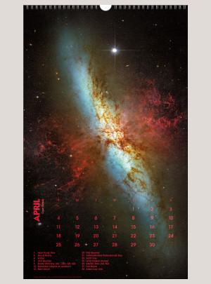 "2021 Deep Space 12"" x 20"" BIG PICTURE™ CALENDAR"