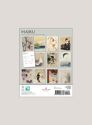 "2021 Haiku 7"" x 9"" BIG MINI™ WALL CALENDAR"