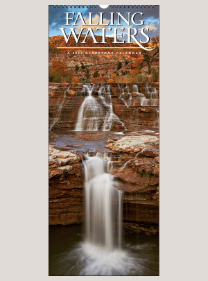"2022 Falling Waters 9"" x 22"" VERTICAL WALL CALENDAR"