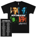 Hot Chelle Rae Whatever Album 2012 Tour T-Shirt