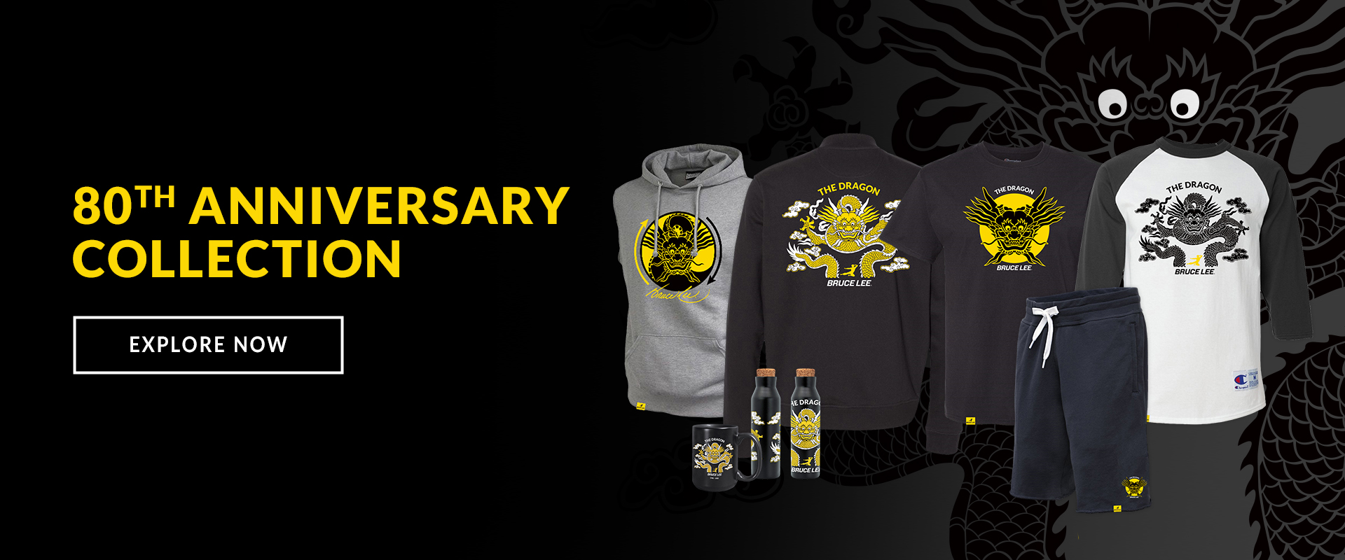 Bruce Lee 80th Anniversary Collection