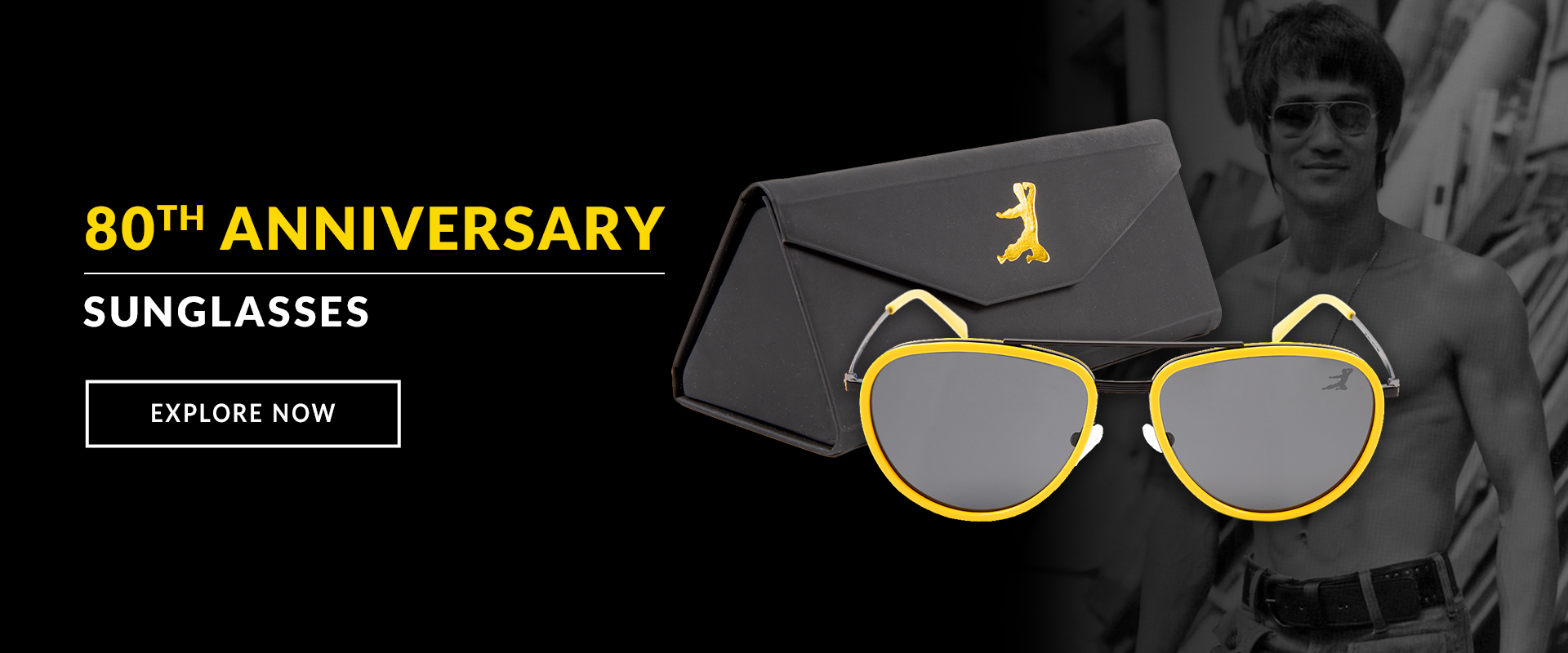 Bruce Lee 80th Anniversary Sunglasses