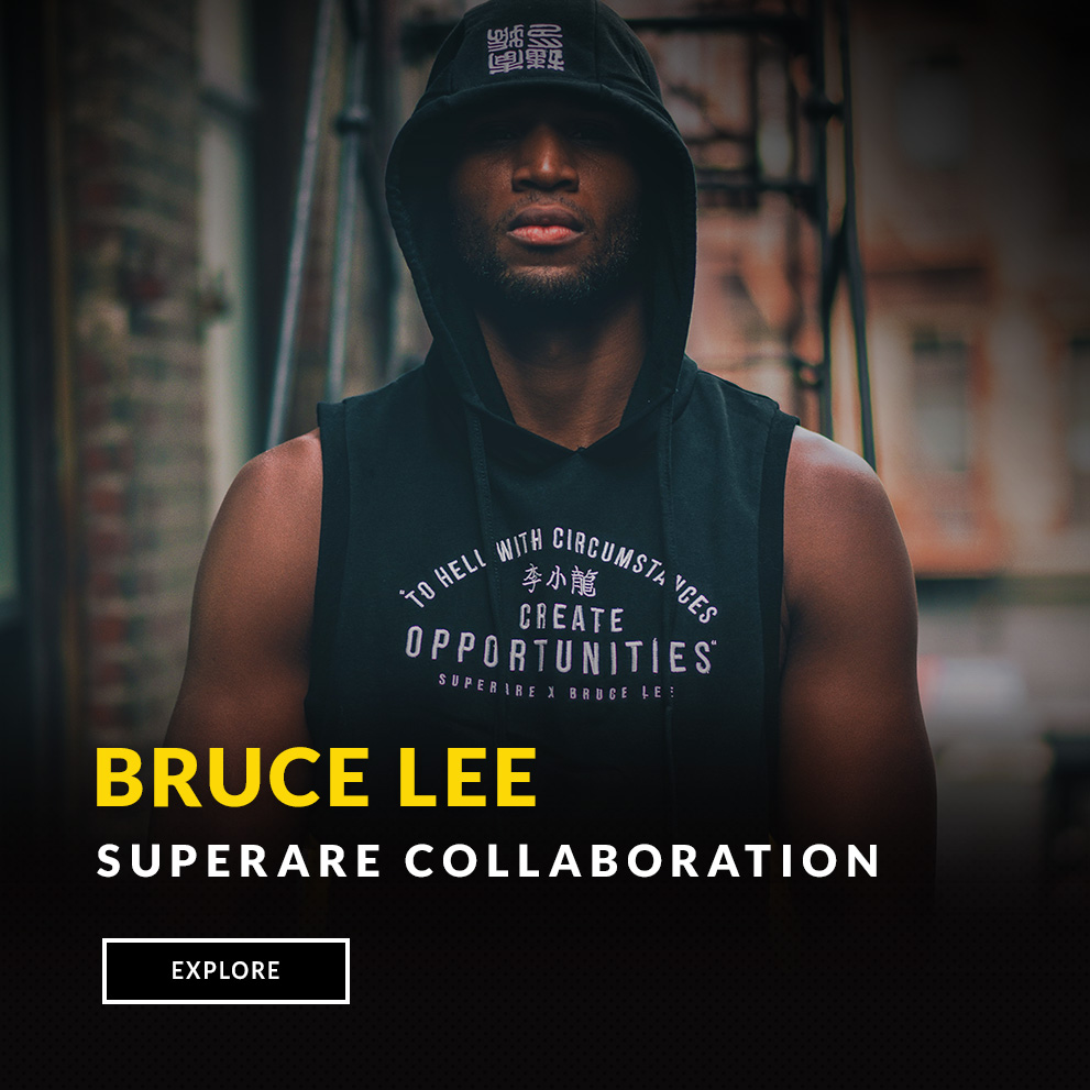 Bruce Lee Superare Collaboration
