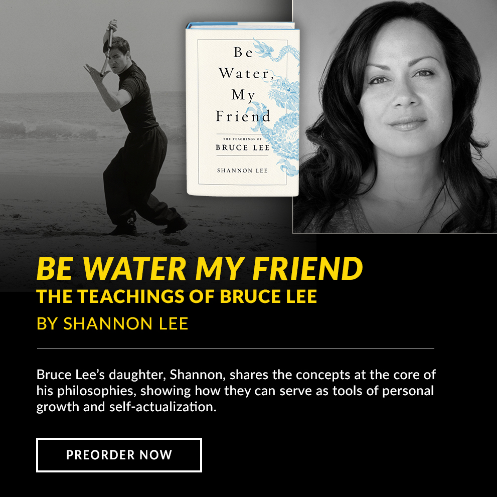 Bruce Lee Be Water Book by Shannon Lee