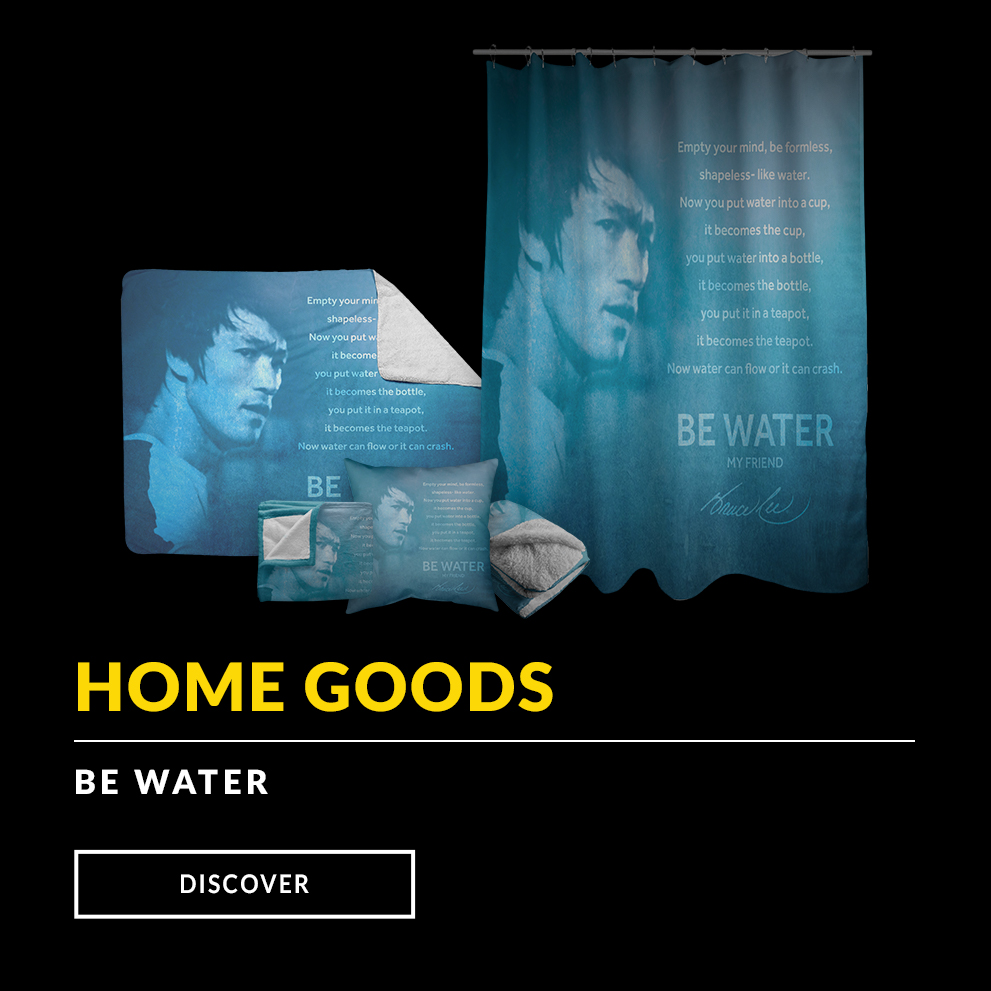 Be Water Home Goods, Blankets, Pillows, Shower Curtains