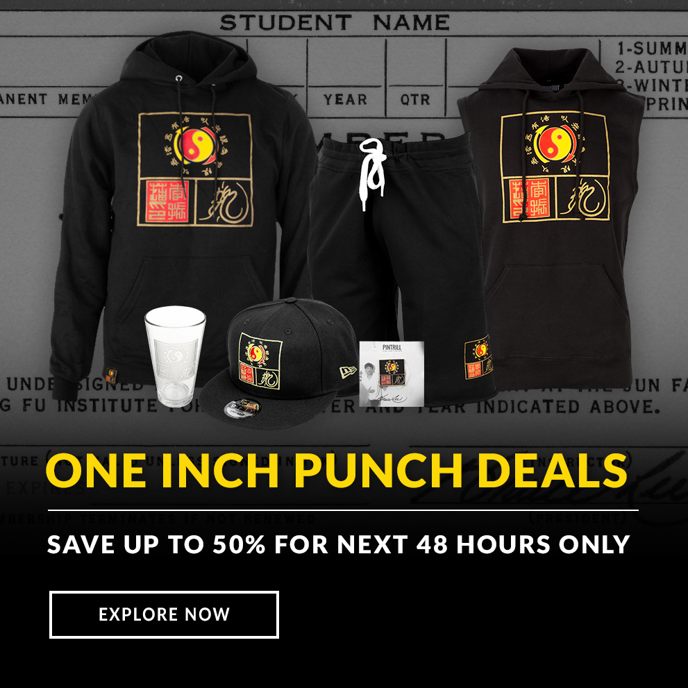 Bruce Lee One Inch Punch Sale