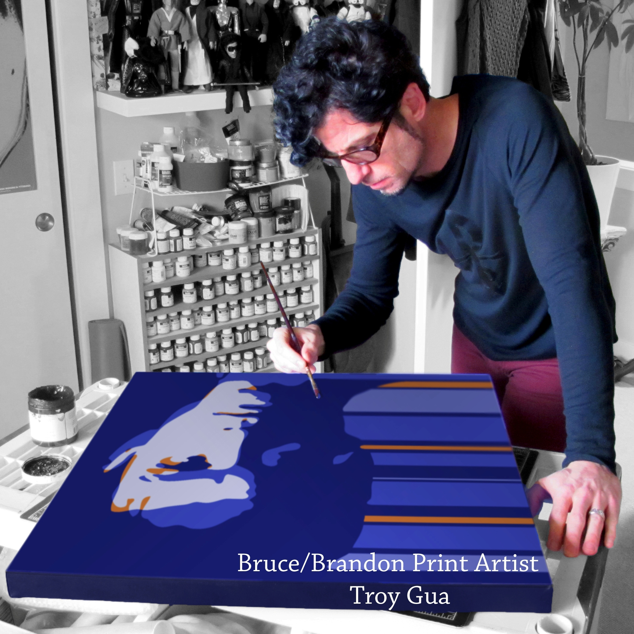 The Bruce/Brandon Fine Art Print by Troy Gua (LTD Edition of 250)