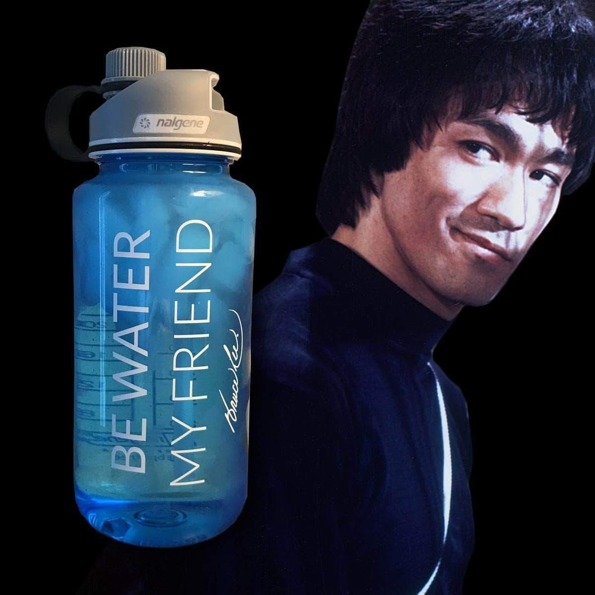 Be Water, My Friend 32oz. Nalgene Bottle