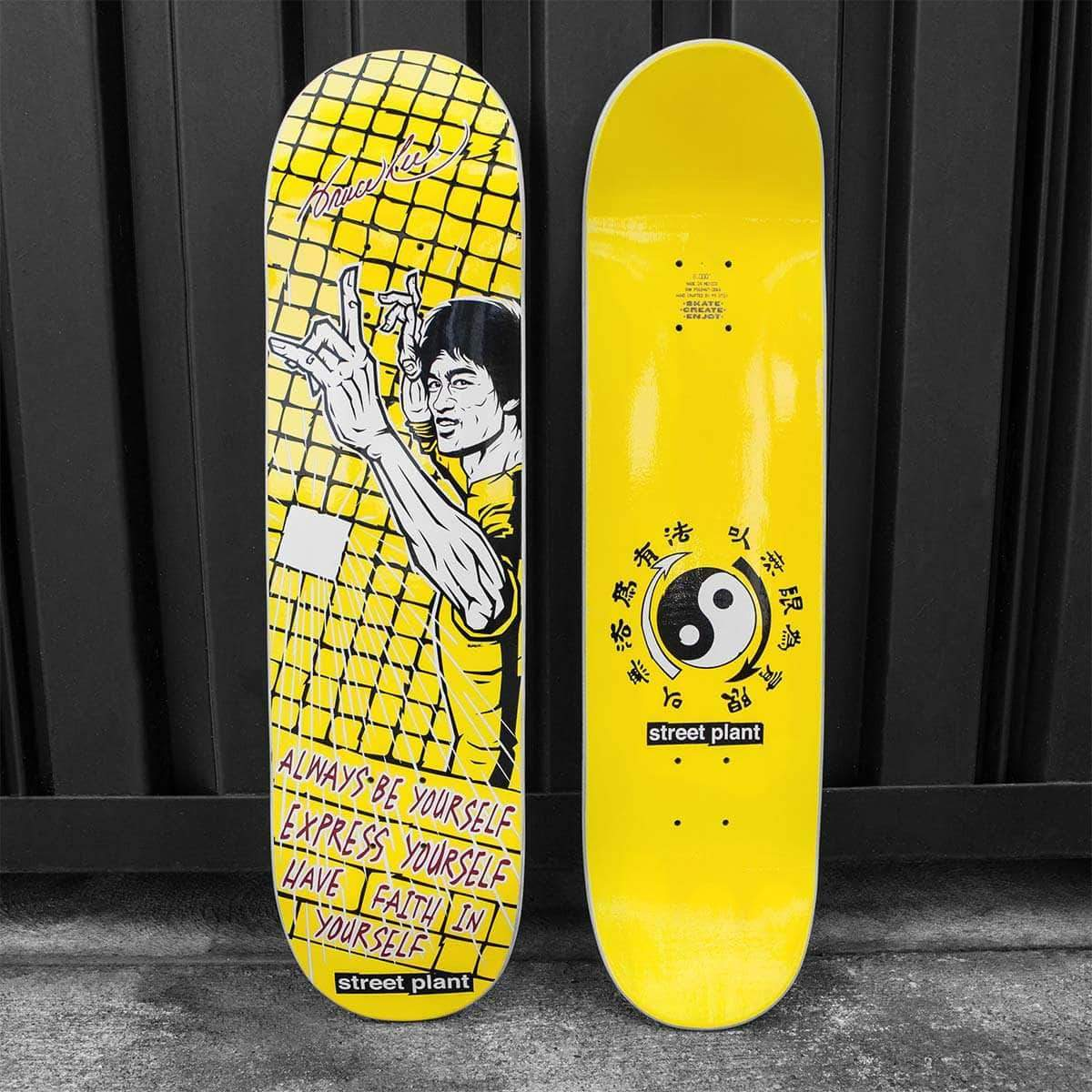 Express Yourself Mike Vallely Skate Deck