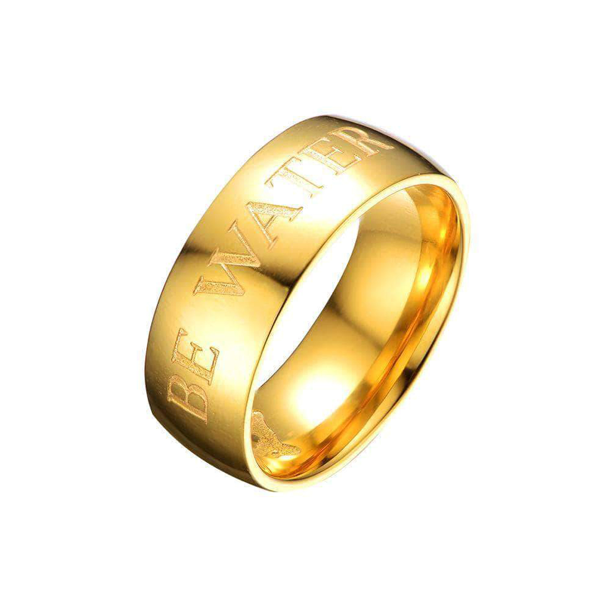 Be Water Ring - Gold