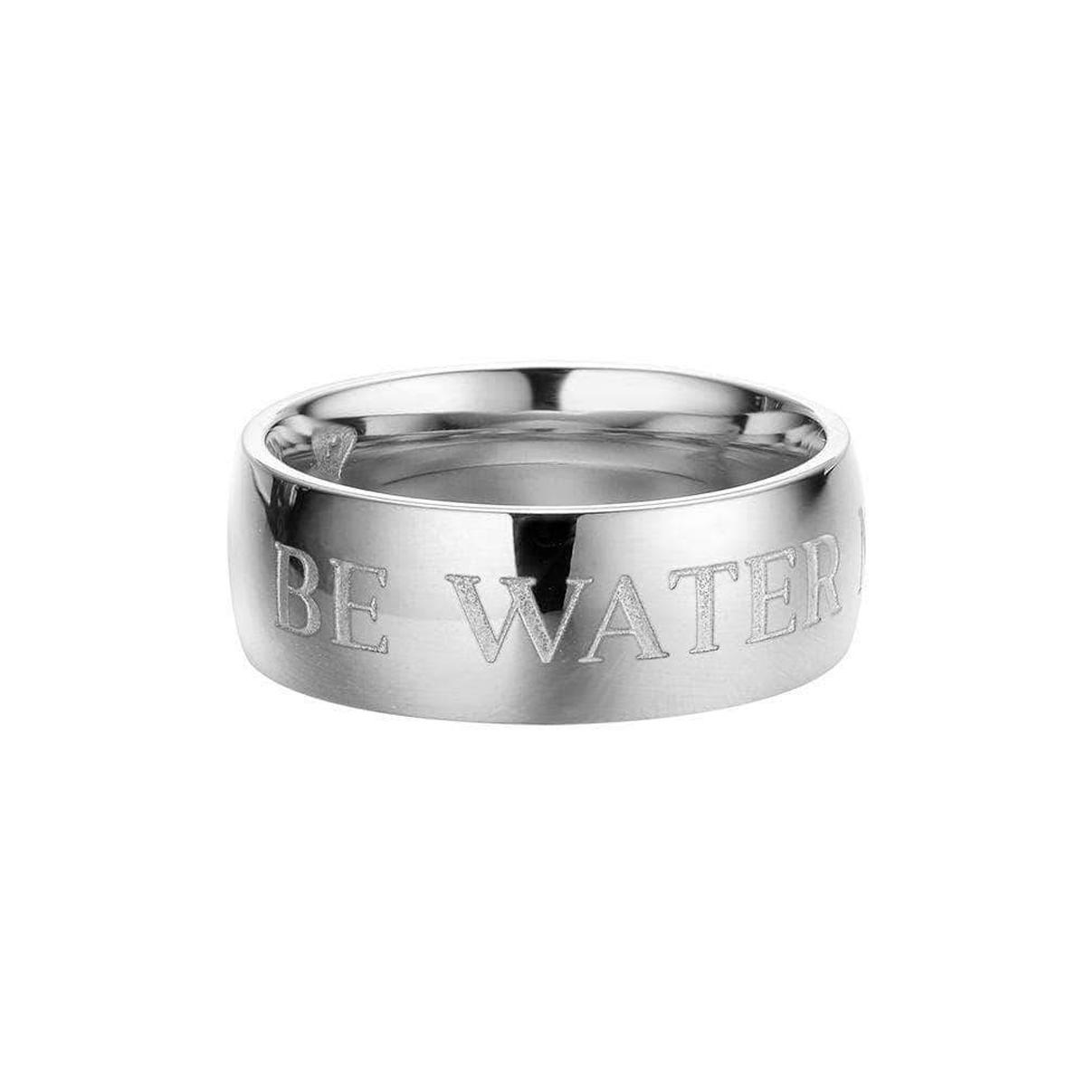 Be Water Ring - Silver
