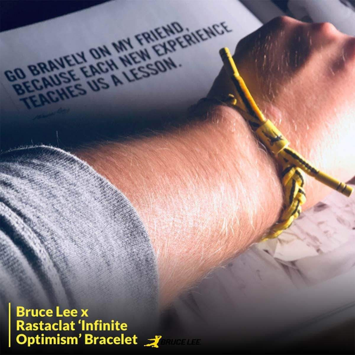 Infinite Optimism Rastaclat Bracelet