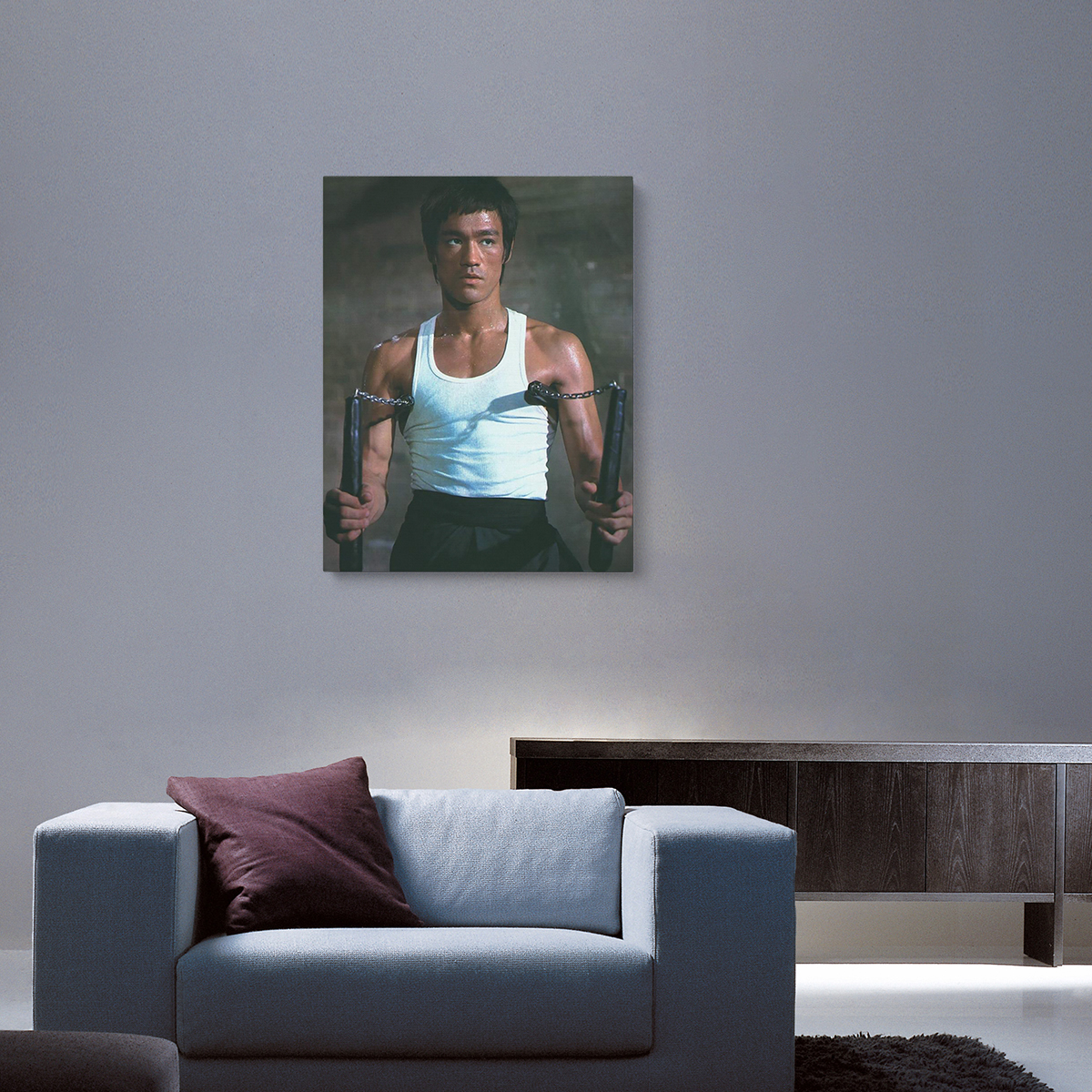 I Have No Fear Of Opponent In Front Of Me Canvas Print