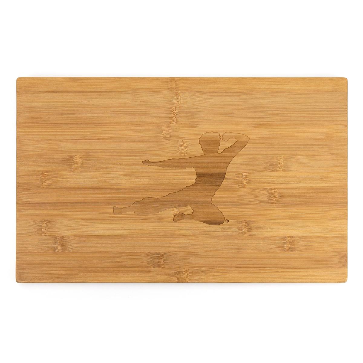 Flying Man Bamboo Cutting Board
