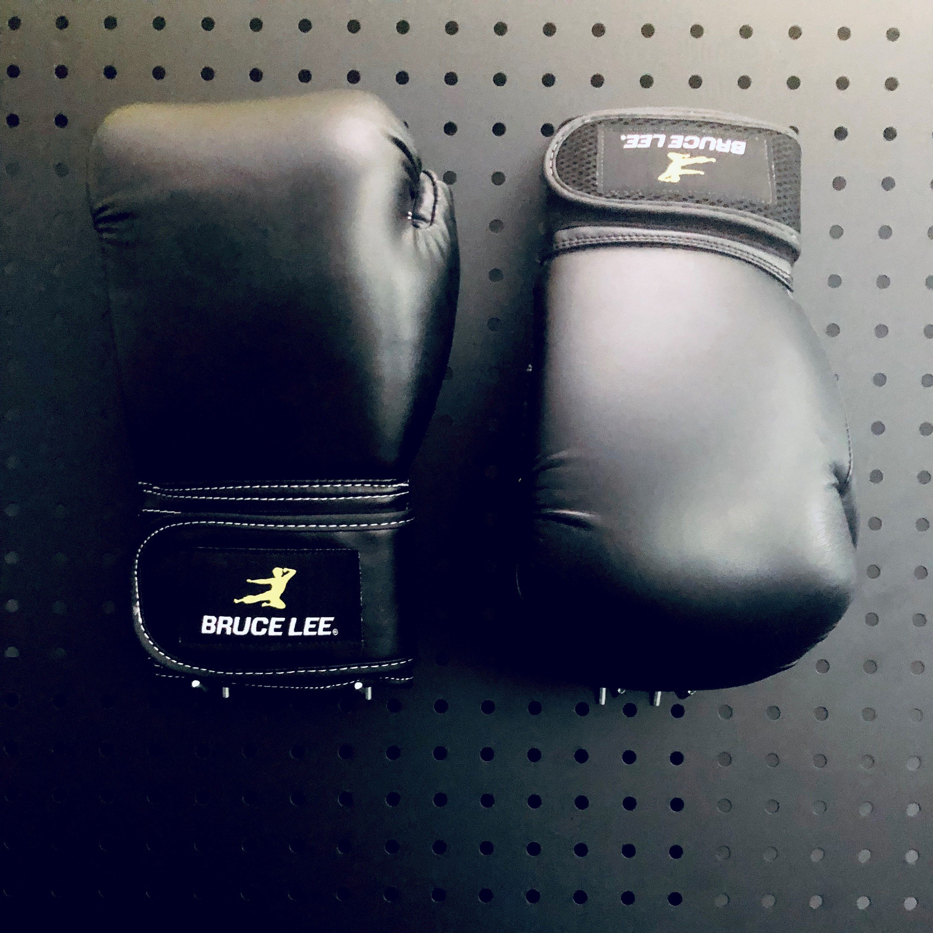 Flying Man Boxing Gloves