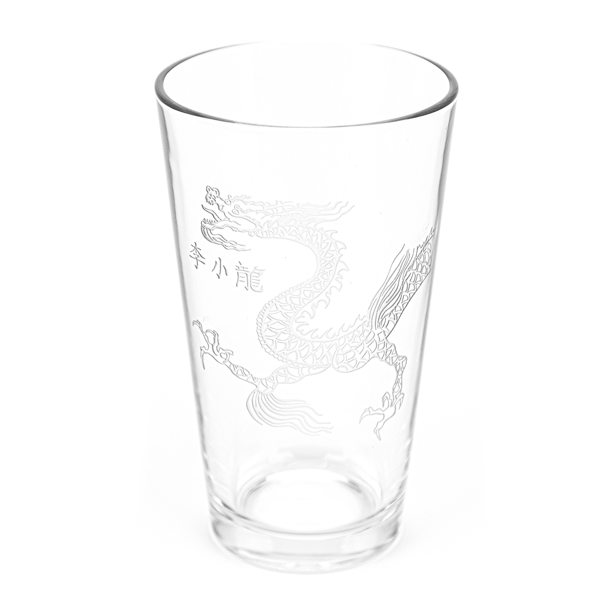 Lee Little Dragon 16oz. Etched Glass